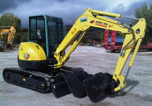 Alquiler de excavadora y cargadoras para ahorrar tiempo y esfuerzos en una obra
